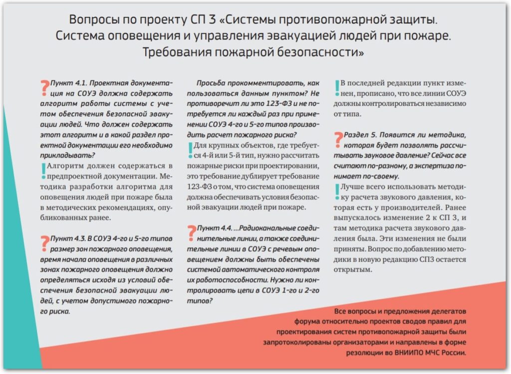 Изменения СП 5.13130 в 2019 году